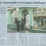 Göttinger Tageblatt: Die Innenstadt wird immer farloser