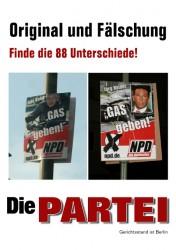NPD Wahlkampfplakat