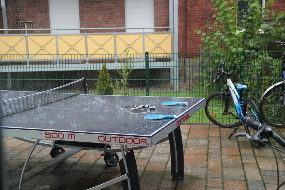 Cornilleau 500 M Outdoor im Regen
