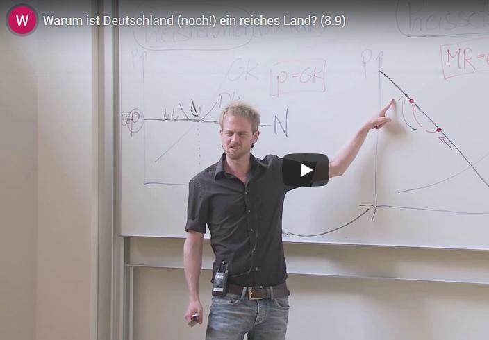 Warum ist Deutschland (noch!) ein reiches Land?