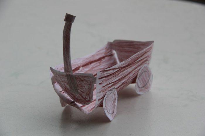 Ein Bollerwagen zum Vatertag