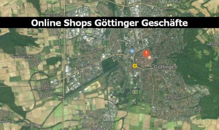 Online Shops Göttinger Geschäfte
