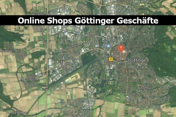 Geschäfte aus Göttingen, bei denen du auch online einkaufen kannst